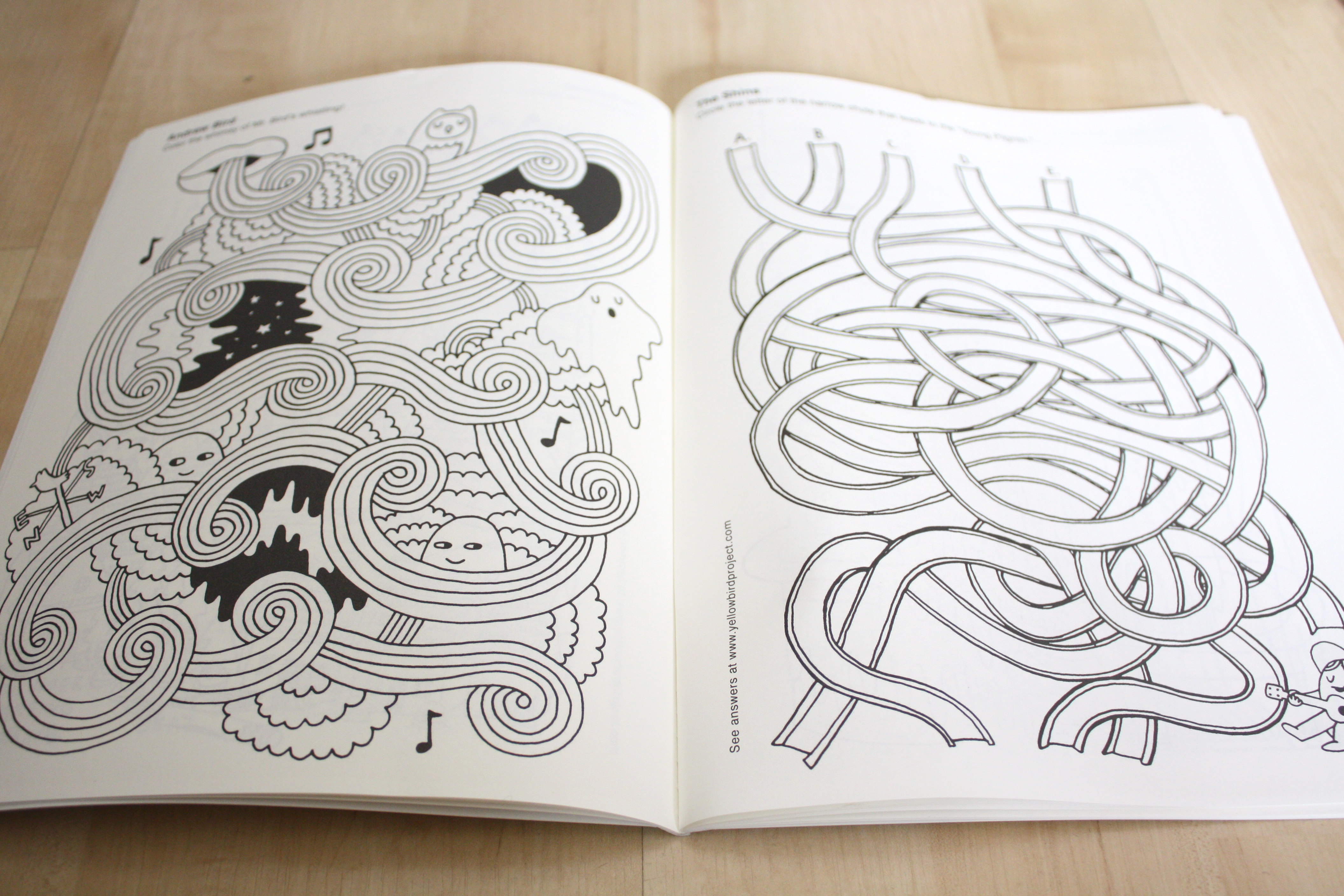 Vintage Blog The In Rock Coloring Book